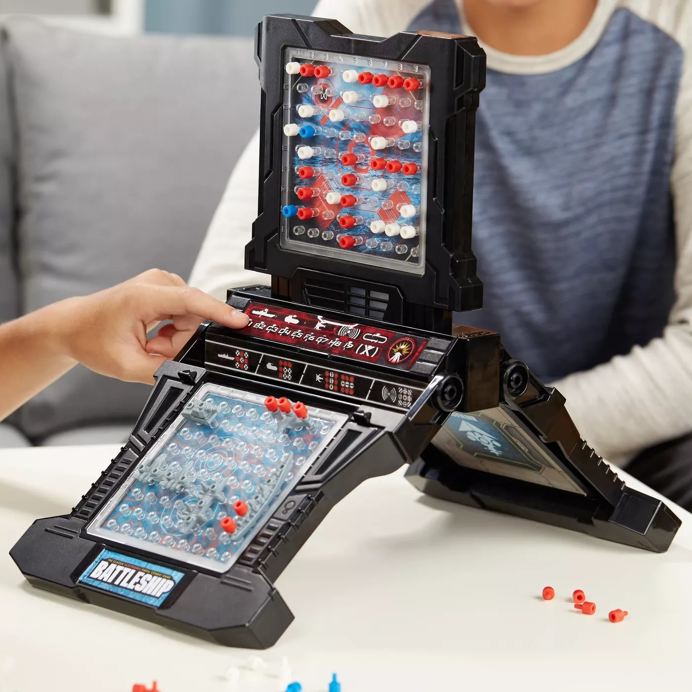 The electronic gameboard
