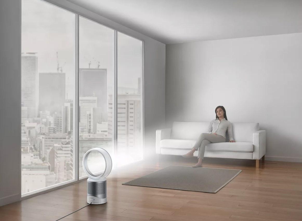 The circular air purifier