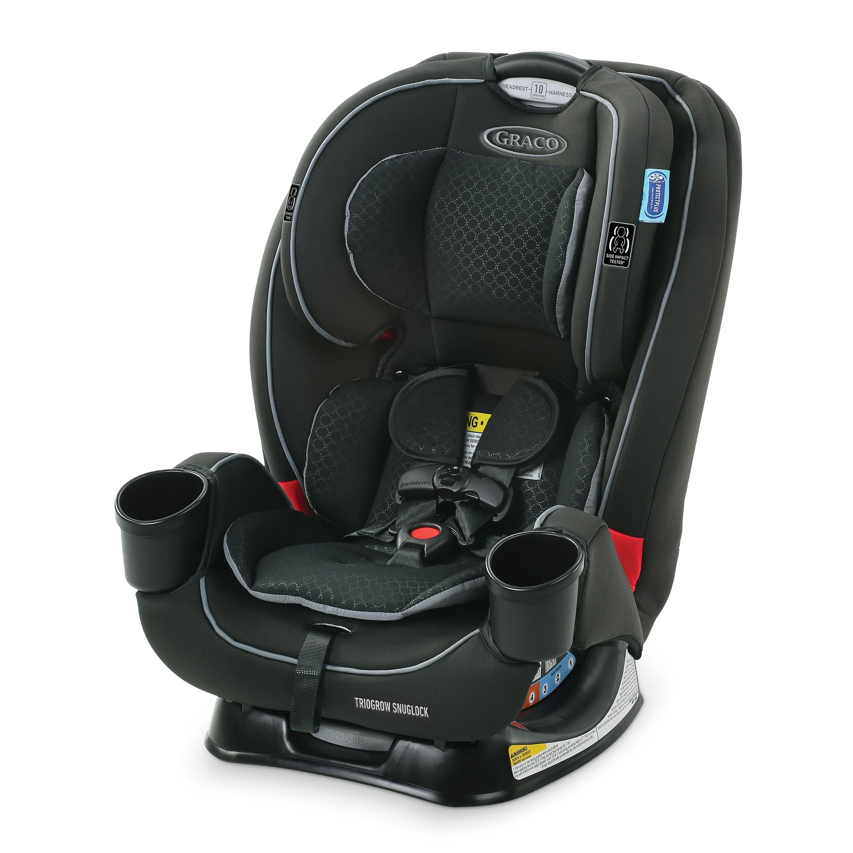 The black car seat