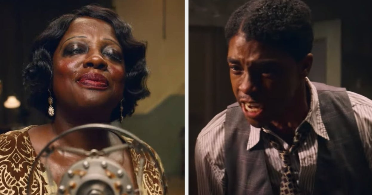 "Viola Davis And The Late Chadwick Boseman Absolutely Shine In The ""Ma Rainey's Black Bottom"" Trailer"