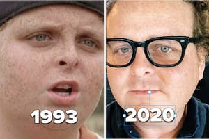 The Sandlot's Patrick Renna in 1993 and 2020
