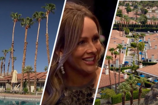 "Go Inside The Palm Springs Hotel Where ""The Bachelorette"" Is Taking Place"