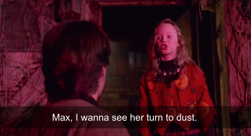Dani addressing Max.