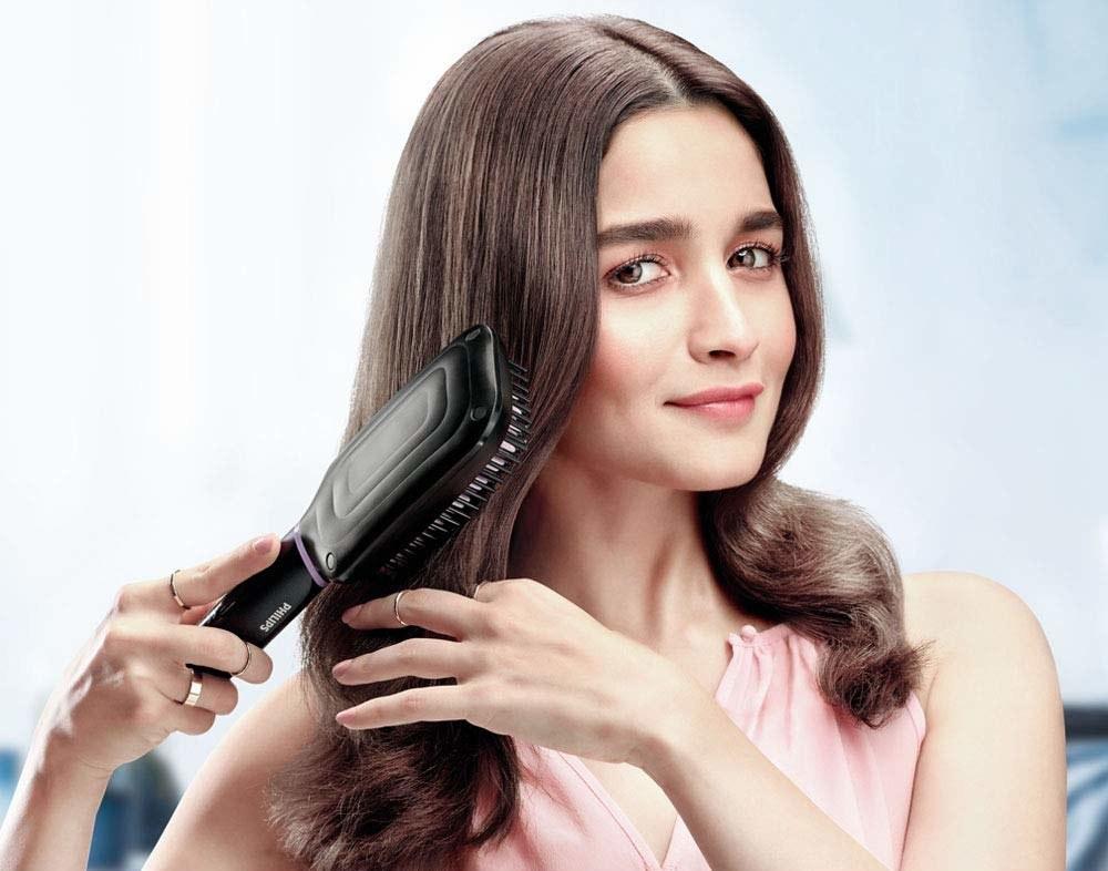 Alia Bhatt using product