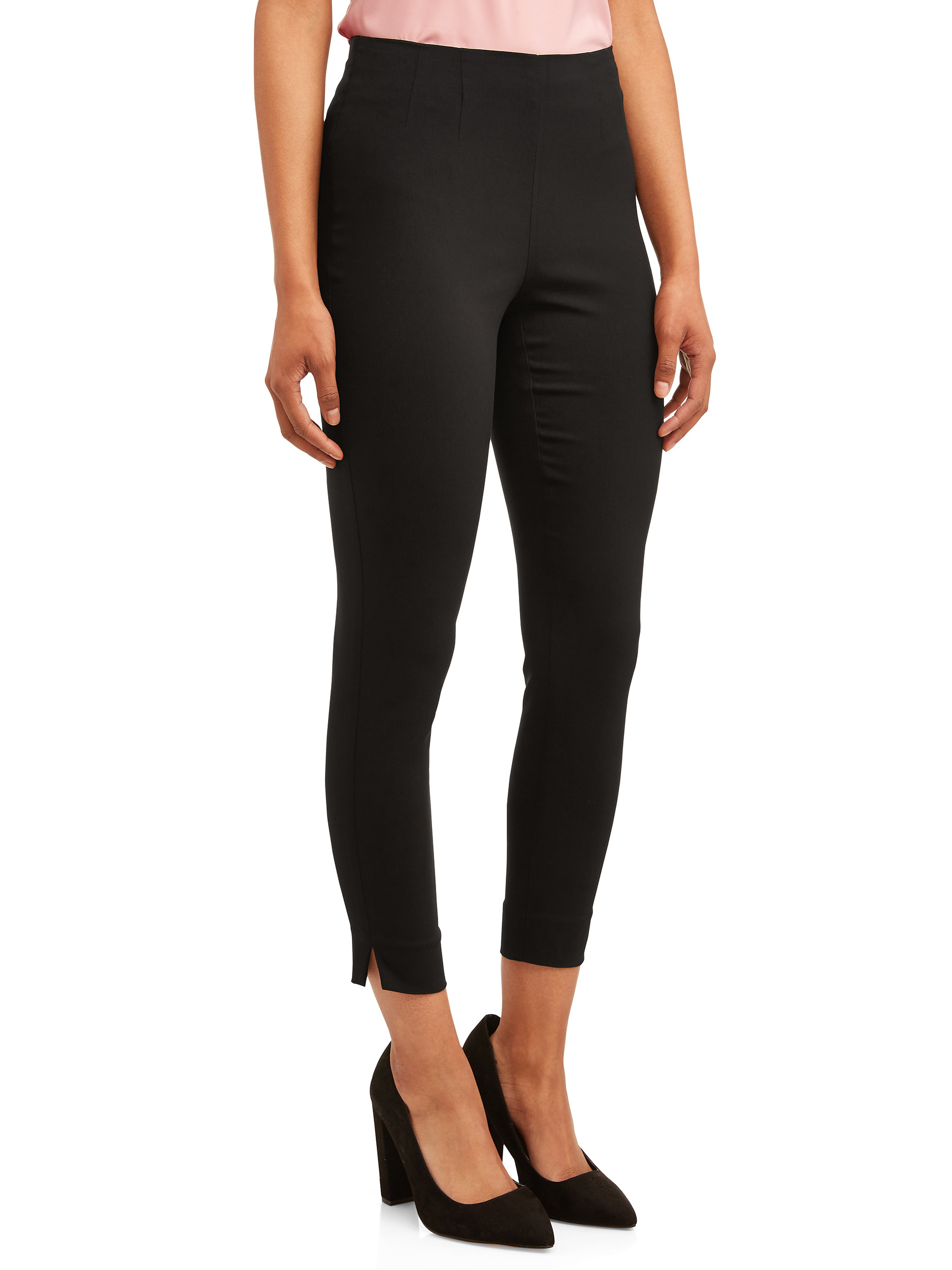 person wearing a pair of black skinny pants