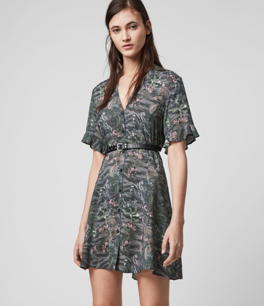 mini dress with short sleeves