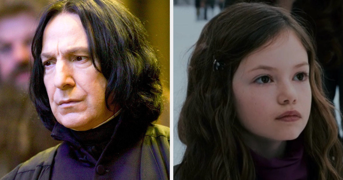 Snape and Renesmee