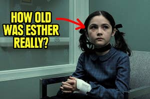 Esther from The Orphan trying to look like an innocent girl but how old was she really