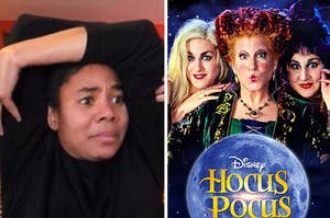 Regina Hall and Hocus Pocus movie.