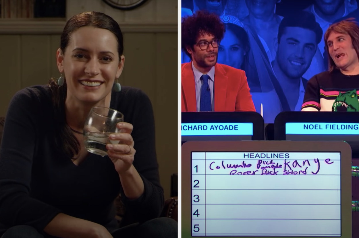 Paget Brewster on Drunk History and Richard Ayoade and Noel Fielding on The Big Fat Quiz of the Year