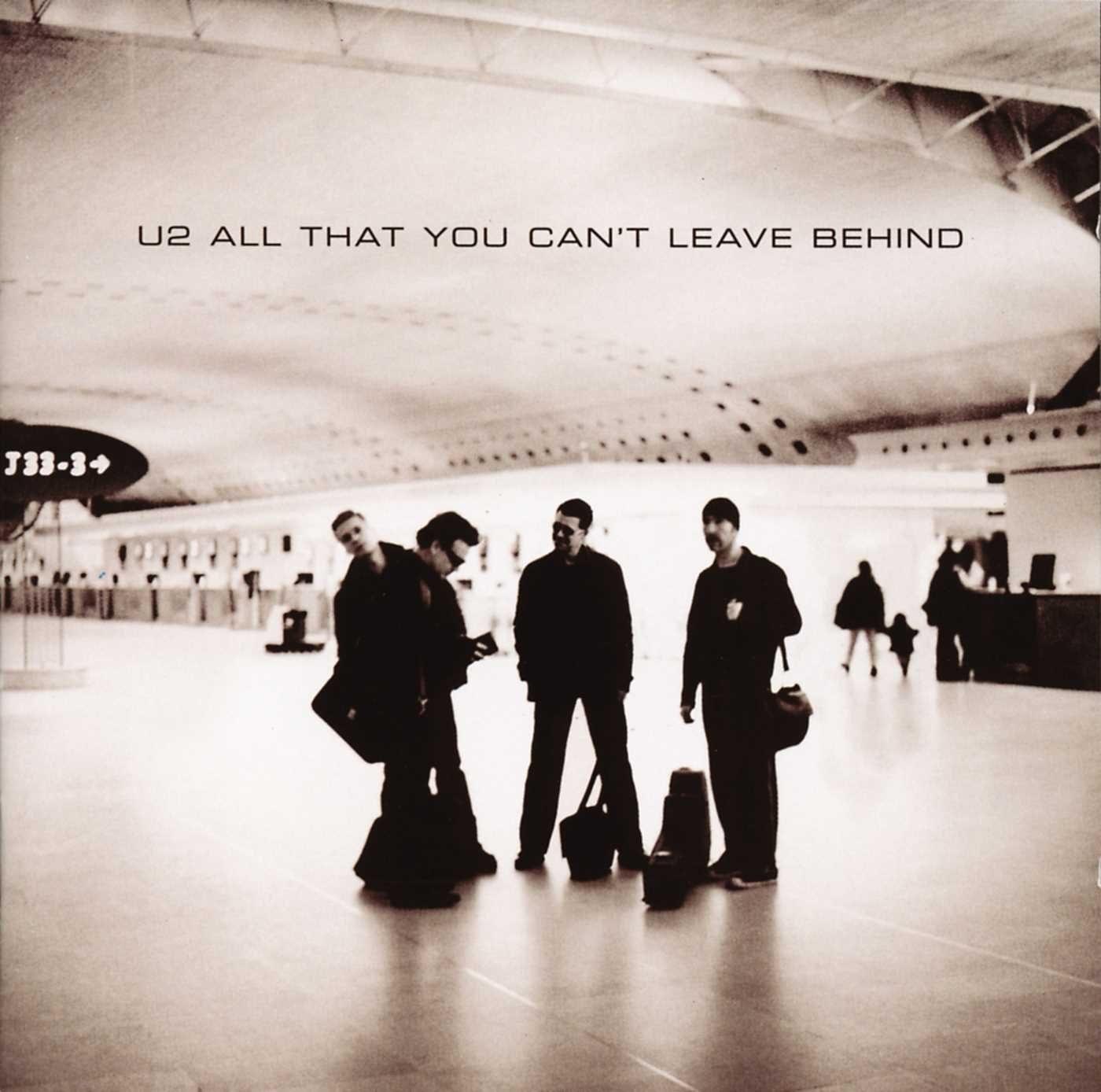 U2 in the airport.