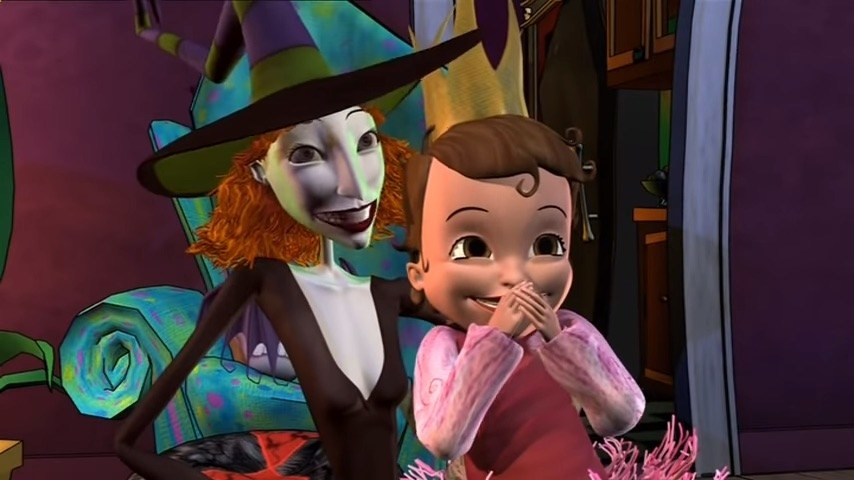 Scary Godmother and Hannah Marie