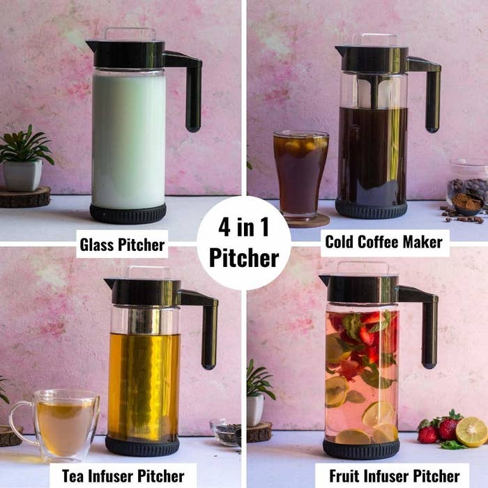 Various uses of the infuser bottle