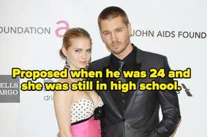 迈克尔·默里在24岁时向肯齐·道尔顿求婚,当时她还在上高中