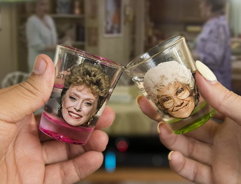 two of the shot glasses