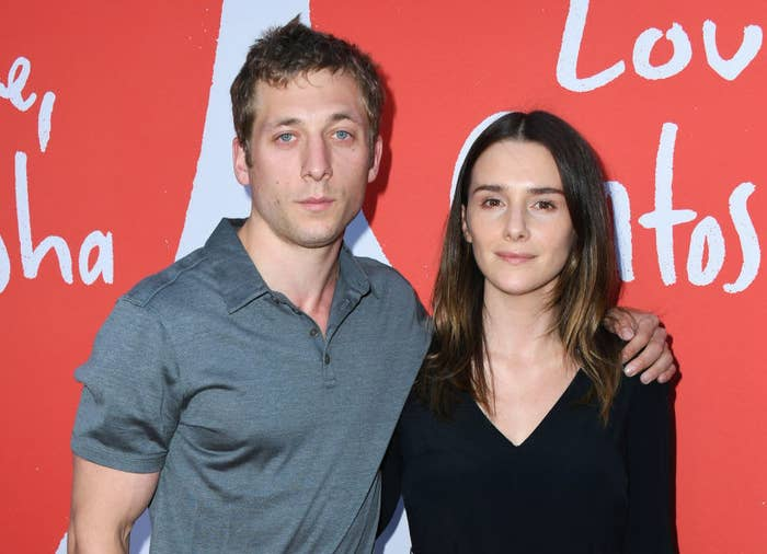 """Jeremy Allen White and Addison Timlin attend the Los Angeles Premiere Of Lurker Productions' """"Love, Antosha"""""""