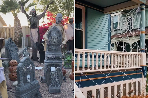 Take A Tour Of These Neighborhoods That Nailed Their Halloween Decorations