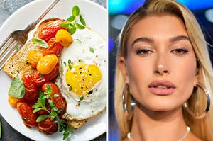 Brunch and Hailey Baldwin.