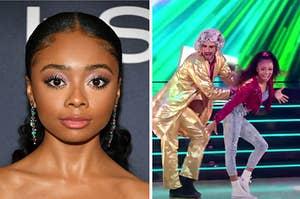 "Skai Jackson and Skai Jackson and Alan Bersten on ""Dancing With The Stars"""