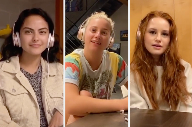 Lili Reinhart, Madelaine Petsch, And Camila Mendes' TikTok Is The Best Thing I've Seen In A While