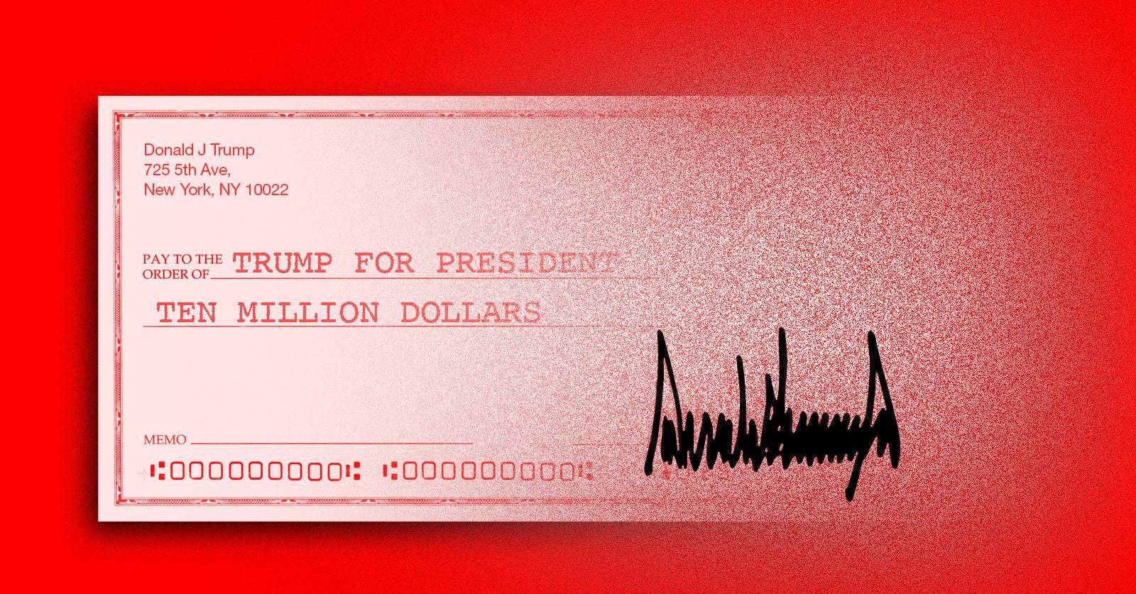 Image of article 'Trump Called The $10 Million A Loan. His Campaign Called It A Donation. Who Paid It Back, And How'