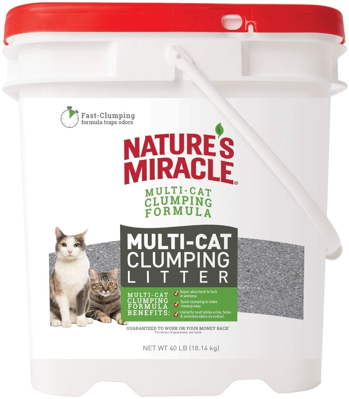 Super absorbent product for homes with multiple cats
