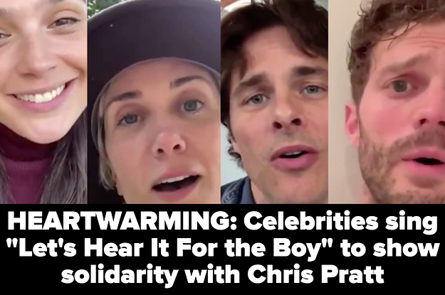 """14 Hilarious Tweets In Response To RDJ, Mark Ruffalo, And Zoe Saldana Standing Up For Chris Pratt After He Was Called """"The Worst Chris"""""""