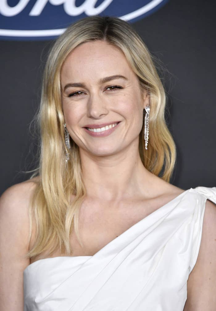 Red carpet photo of Brie Larson