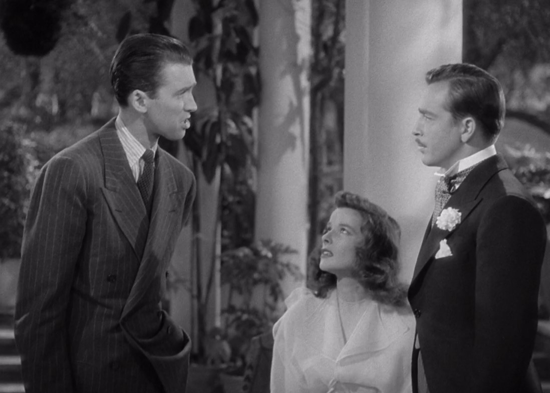 """three people argue in """"The Philadelphia Story"""""""