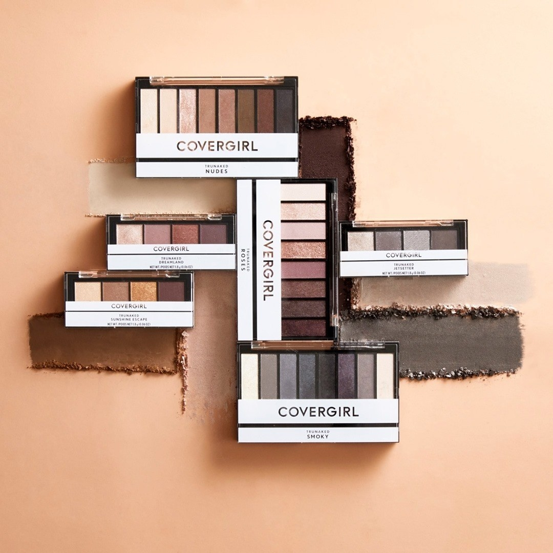 All of covergirl's trunaked eyeshadow palettes