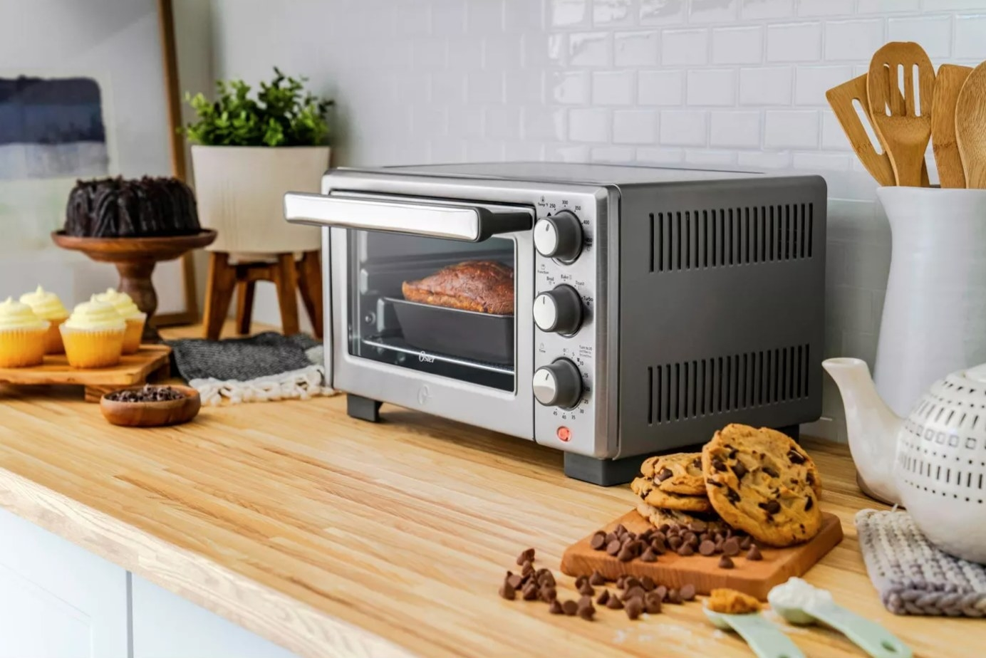 The countertop oven with an air fryer