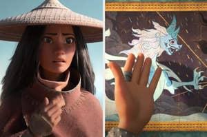Raya and art of an ancient, beautiful dragon