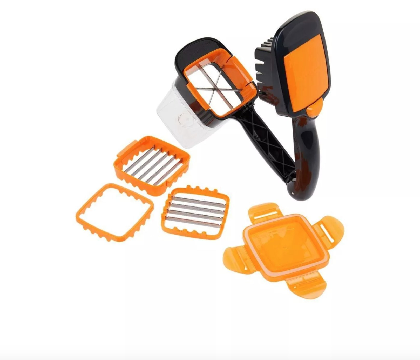 The nutri chopper with multiple add ons and storage lid