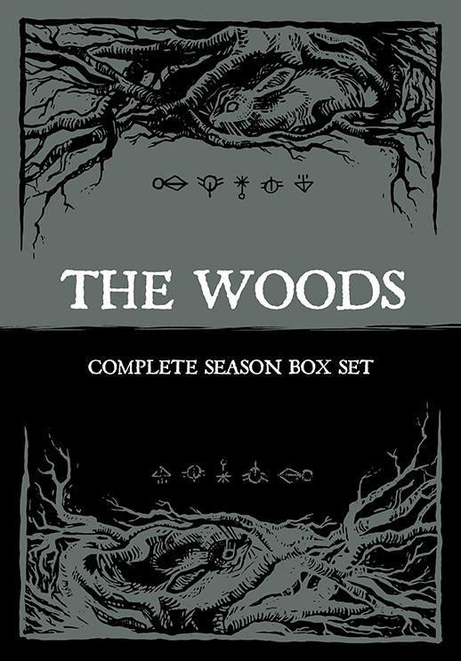 The Woods box set packaging