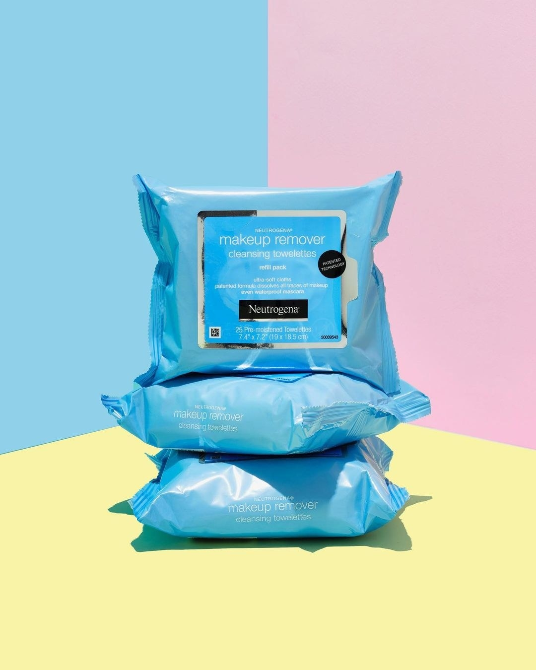 Neutrogrena makeup removing wipes