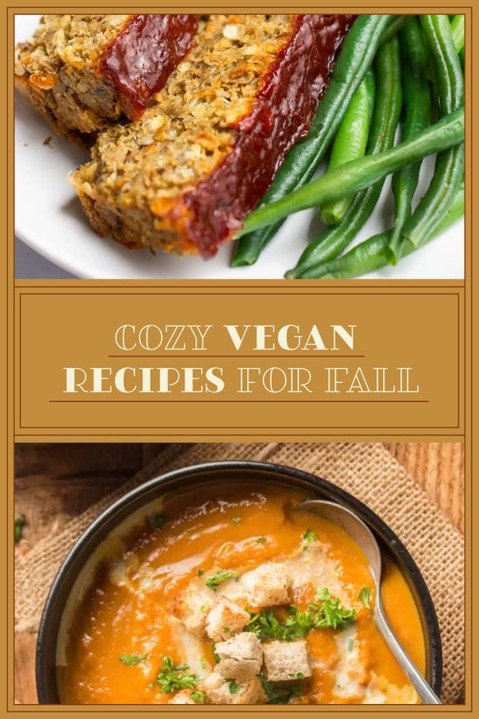 Cozy Vegan Recipes For Fall