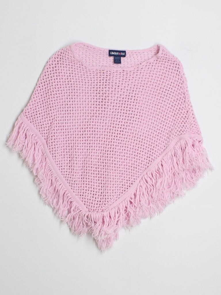 A pink Limited Too poncho