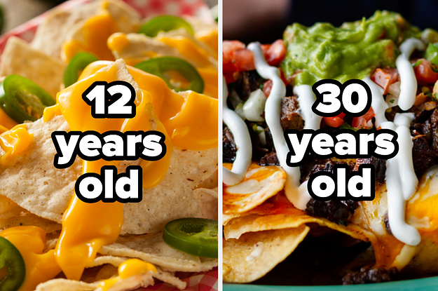 Make A Giant Plate Of Nachos And We'll Successfully Guess Your Age