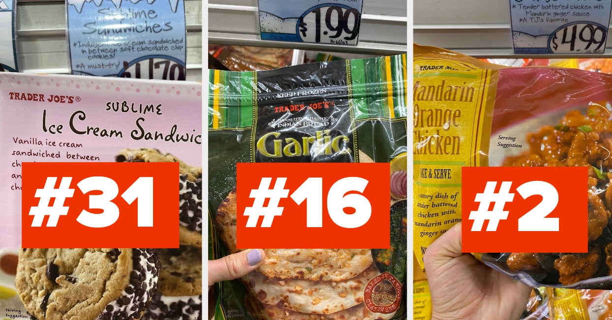 the 52 most popular trader joe's frozen foods ranked from