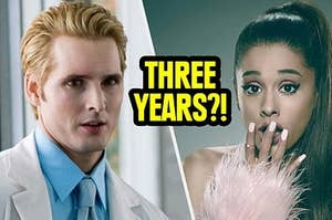 Ariana Grande shocked that Dr. Cullen is going to change her in 3 years