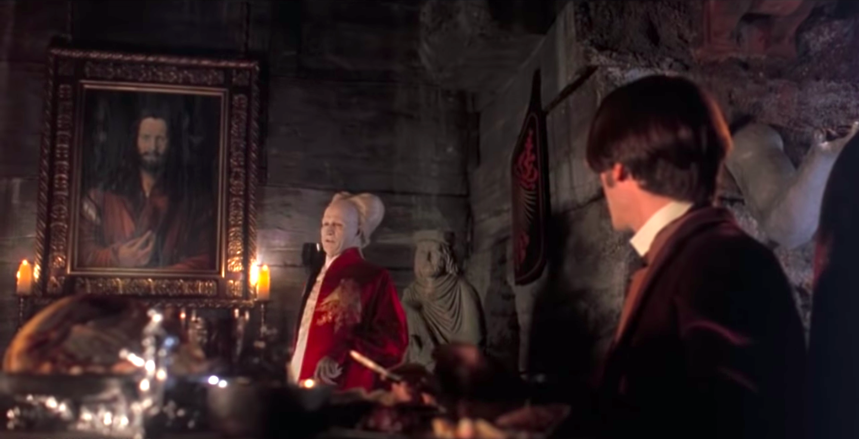 Gary Oldman and Keanu Reeves in Bram Stoker's Dracula