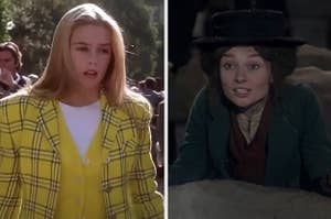 Cher from Clueless and Eliza from My Fair Lady