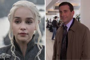 dany from game of thrones and michael scott from the office