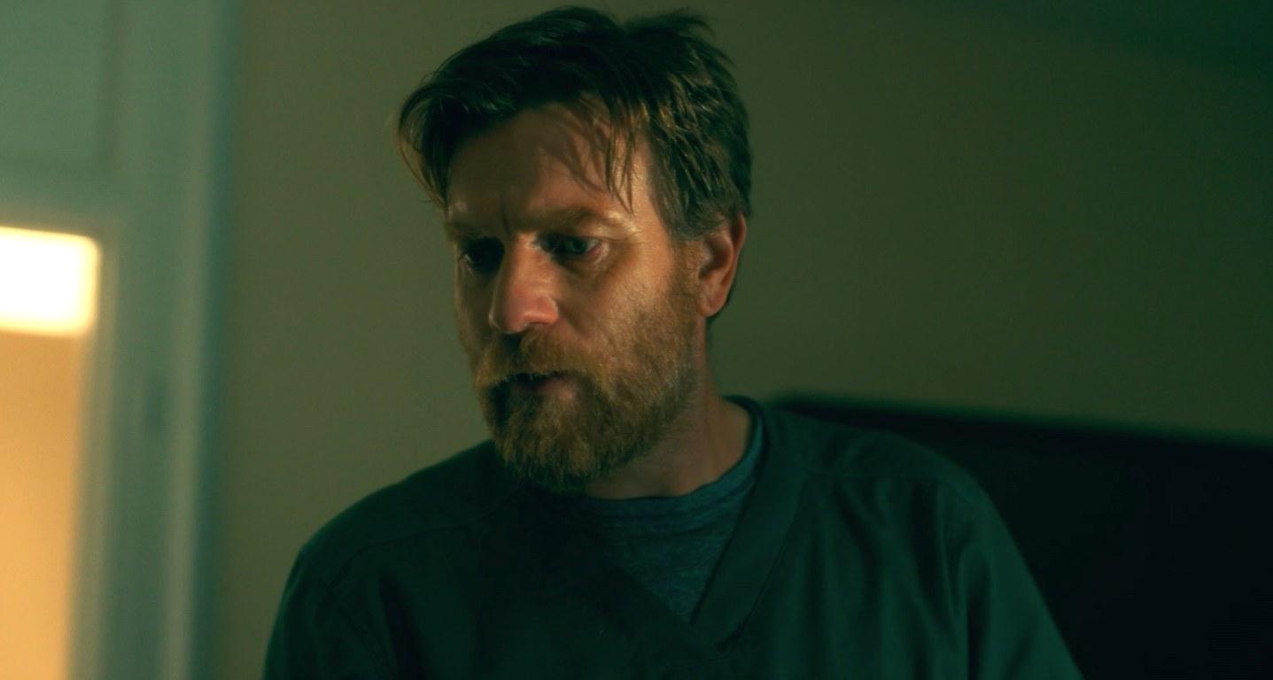 "ewan mcgregor with a big beard in ""doctor sleep"""