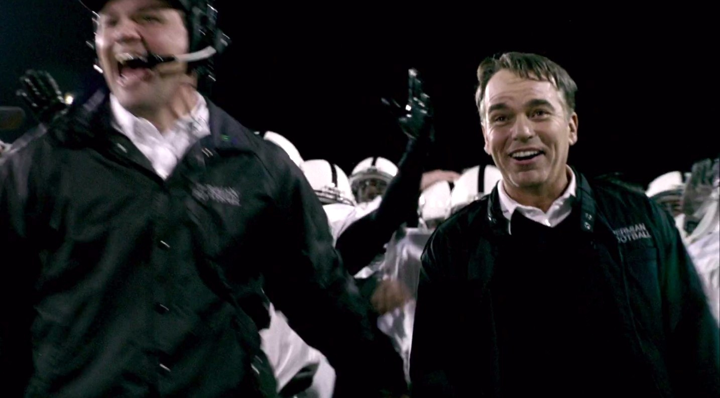 "billy bob thornton playing a coach in ""friday night lights"""