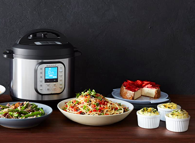 the Instant Pot with cheesecake, frittatas, pasta, and other foods