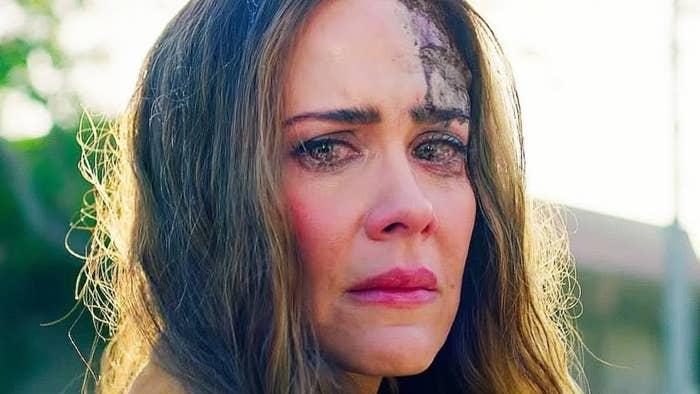 """Sarah Paulson in a scene from """"Bird Box"""""""
