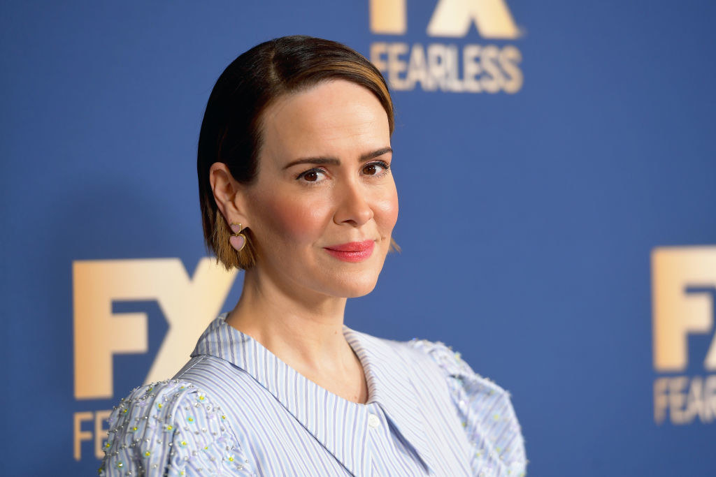 Sarah Paulson of 'Mrs. America' attends the FX Networks' Star Walk Winter Press Tour 2020