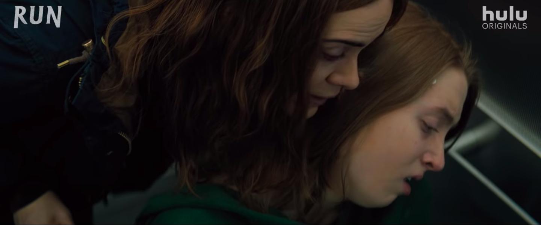 "Sarah Paulson and Kiera Allen in a scene from ""Run"""