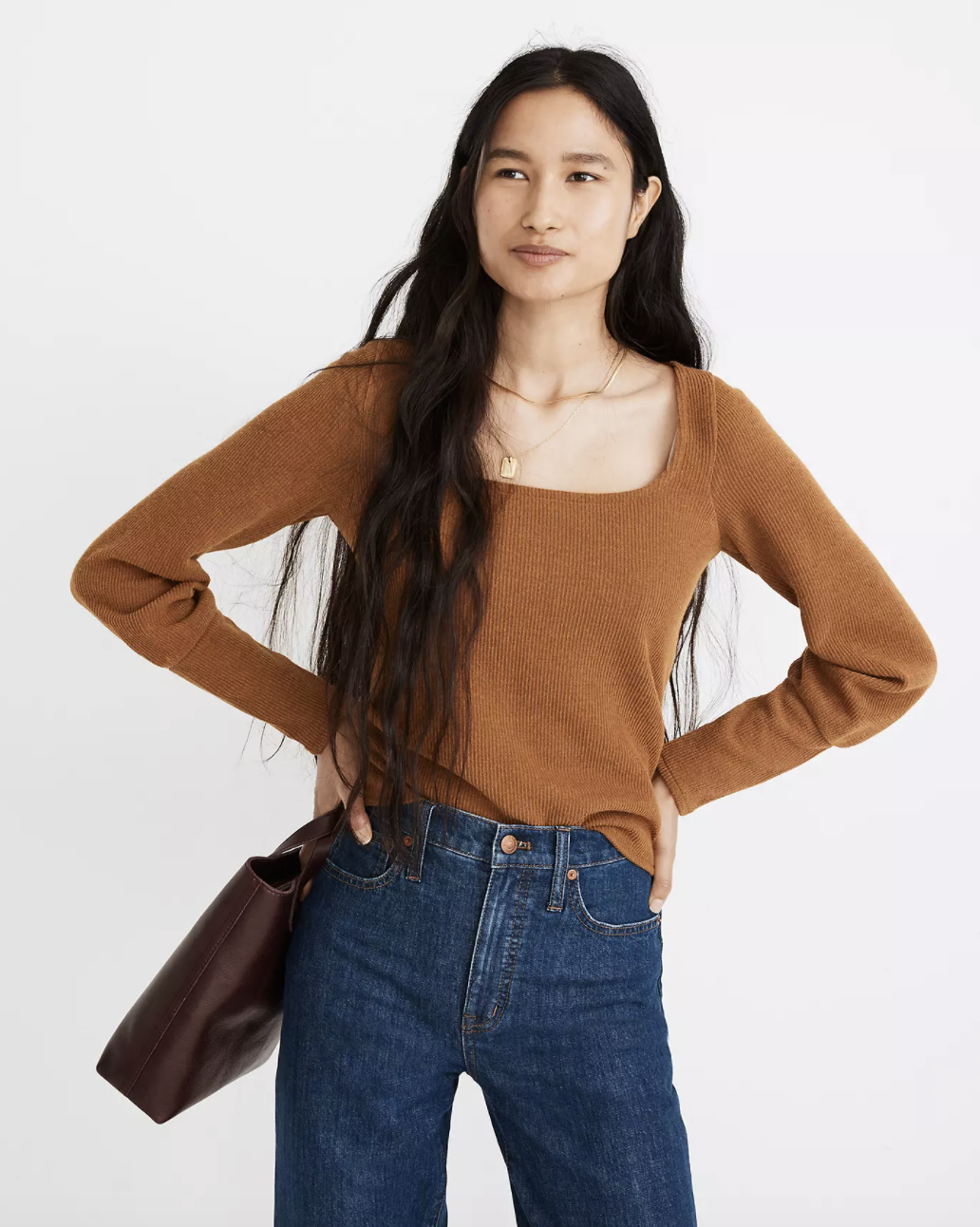 the top in brown